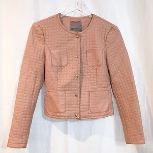 ASOS Vero Moda / quilted blush jacket